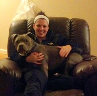 Mary the lap dog