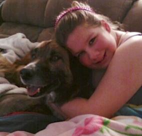 Katelynn and Bear