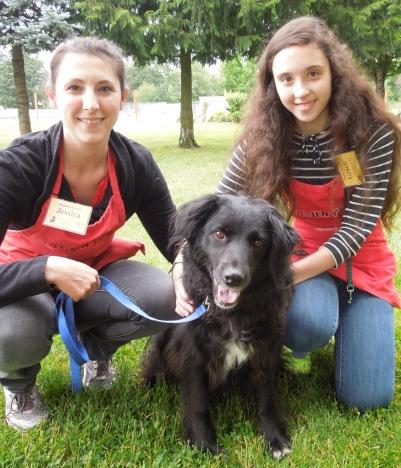 Sarah, Jessica and Gracie